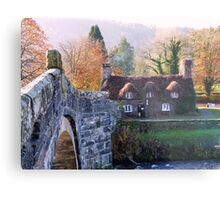 Cottage Tea Rooms, Llanrwst Metal Print