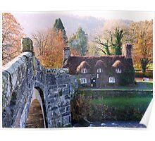 Cottage Tea Rooms, Llanrwst Poster