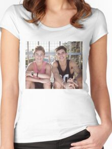 Jack & Jack Women's Fitted Scoop T-Shirt