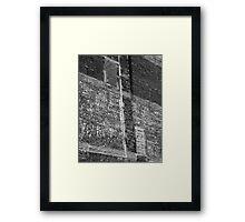 Brick and Mortar Framed Print