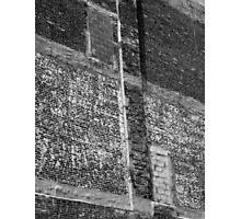 Brick and Mortar Photographic Print