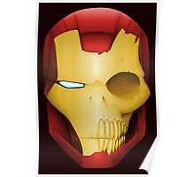 Iron Man Skull Poster