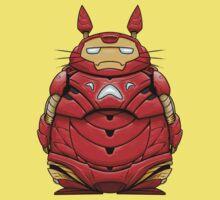 Iron Man Totoro Kids Clothes