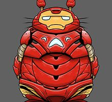 Iron Man Totoro by crabro