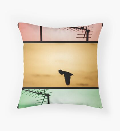 And then there was one. Throw Pillow
