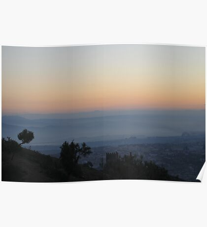 Dawn over Fes Poster