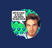 PewDiePie DON'T BE A SALAD! by Dacdacgirl