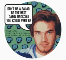 PewDiePie DON'T BE A SALAD! One Piece - Short Sleeve