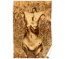 Gold Nude I Poster