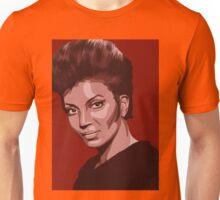 Uhura from TOS Star Trek (stylized) Unisex T-Shirt