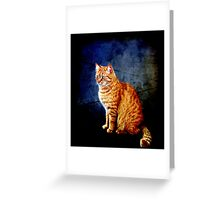Ginger Magnificence! Greeting Card