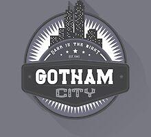 Gotham City by Boulinosaure