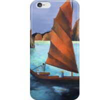 Junks In the Descending Dragon Bay iPhone Case/Skin