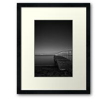 Cold night Framed Print