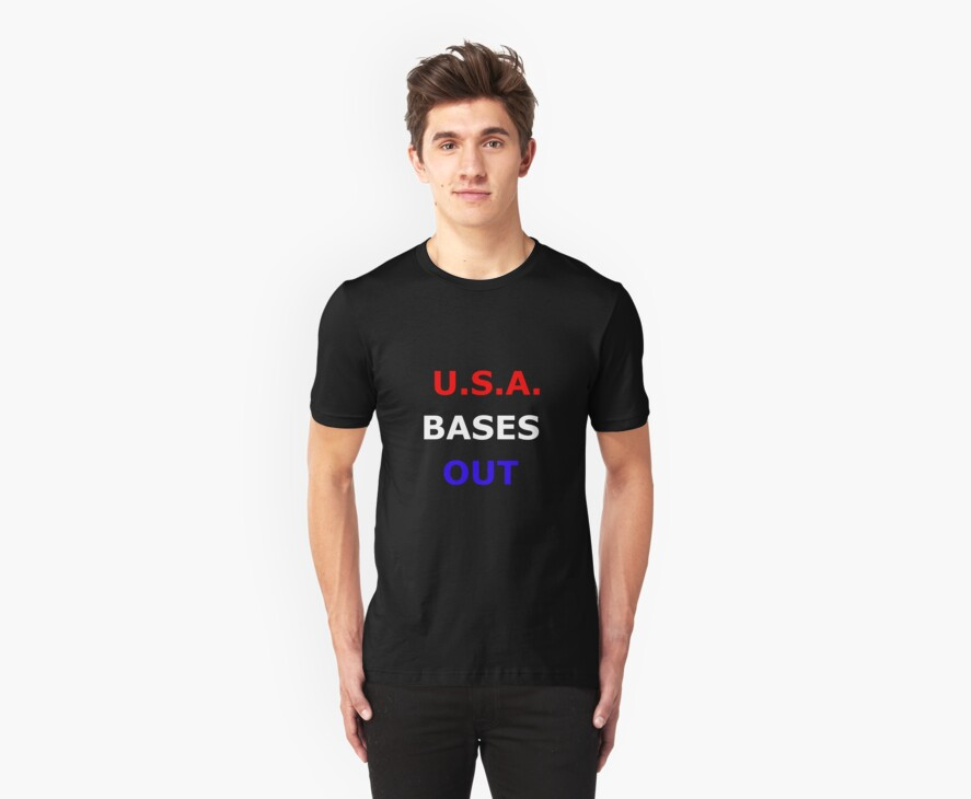 U.S.A. Bases Out by Gregory John O'Flaherty