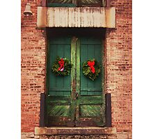 Christmas At The Artist Loft Photographic Print