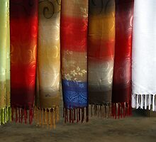 Scarves in Vietnam by Tony Roddam