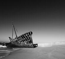 Ghost Ship - Western Sahara by Nick Bradshaw