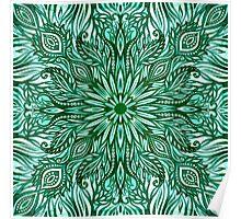 - Emerald pattern - Poster
