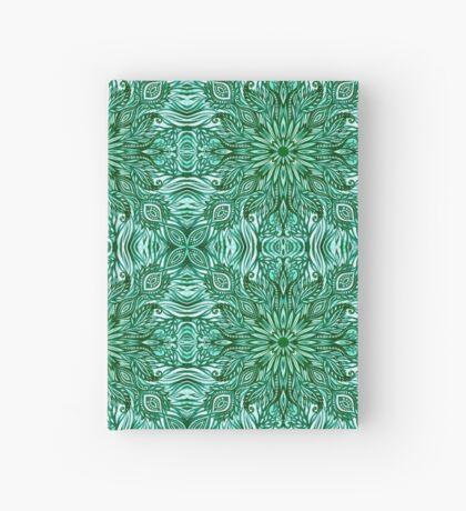 - Emerald pattern - Hardcover Journal