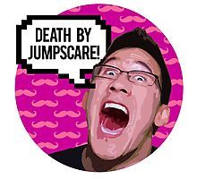 Markiplier DEATH BY JUMPSCARE! Photographic Print