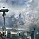 Sweetly Seattle ... Seattle Rain Series by linaji