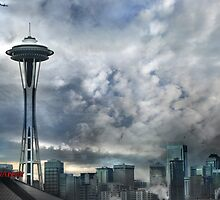Sweetly Seattle ... Seattle Rain Series by linaji