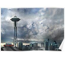 Sweetly Seattle ... Seattle Rain Series Poster
