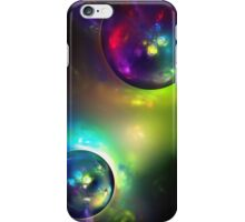 Color Abstract soap bubble fractal background iPhone Case/Skin