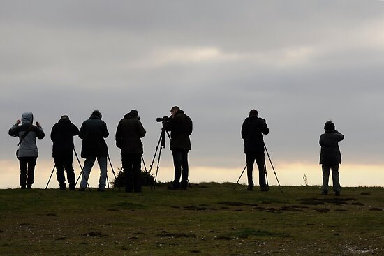 A group of Photographers. by Karen  Betts