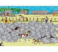 Life on a Sheep Station Photographic Print