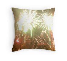 Firework Show Throw Pillow
