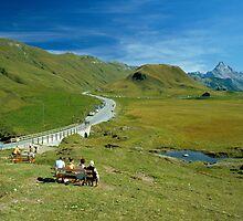 Hochtannberg Pass, Austria, 1980s by David A. L. Davies