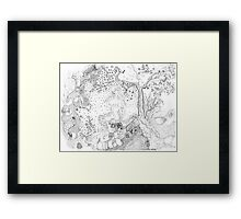 Still Point in a Sea Change (Contemplating Eve) Framed Print