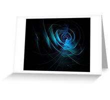 Digital art abstract composition suitable for background Greeting Card