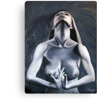 Act Blue Canvas Print