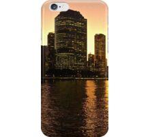 Brisbane City from Kangaroo Point, Qld iPhone Case/Skin