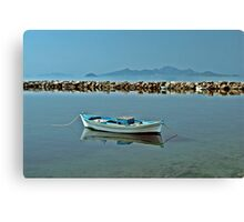 Greek Island Scenery. Canvas Print