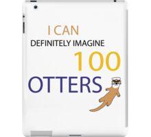 100 Otters iPad Case/Skin