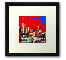 Bay City Framed Print