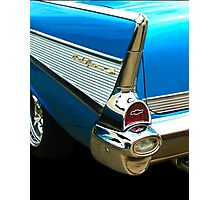1957 Chevy Belair Fin Photographic Print