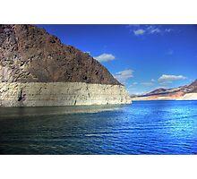 Sunshine on Lake Mead - Las Vegas, Nevada Photographic Print