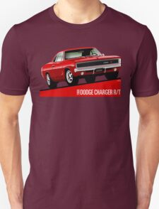 Dodge Charger R/T 1968 red T-Shirt