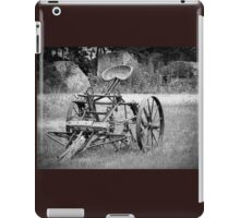 The county seat in black and white iPad Case/Skin
