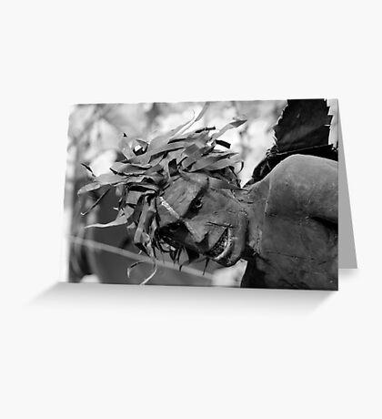 Eden Sculpture Greeting Card