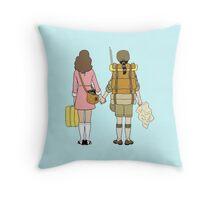 Moonrise Kingdom - Suzy & Sam Throw Pillow