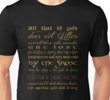 Riddle of Strider Poem Unisex T-Shirt