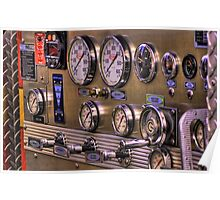 Dials & Levers Poster
