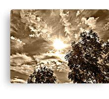 Heavenly Sky Canvas Print
