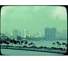 Miami vice  Photographic Print